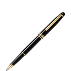 Mont Blanc Classique Gold-Coated Rollerball