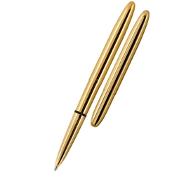 Fisher Space Pen Titanium Guld